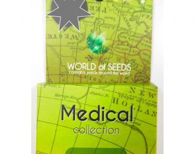 World of Seeds - Medical Collection cannabis seed